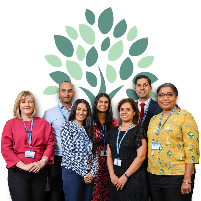 Photo of the Watford Health Team